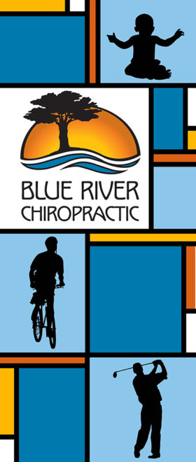 Blue River Chiropractic Trade Show Banner #1