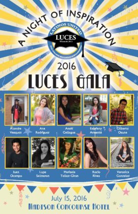 LUCES Gala Poster