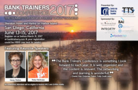 Bank Trainers Conference 2017 Postcard